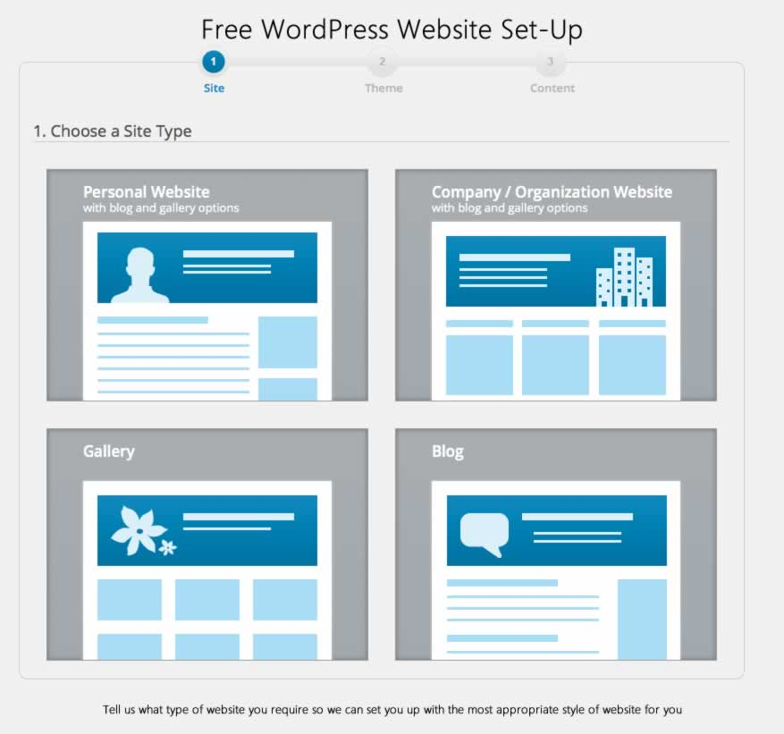 free-wordpress-setup